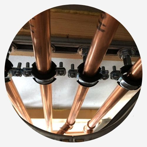 Plumbing and heating services for new builds in Welshpool
