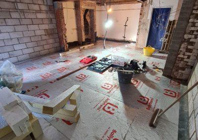 Underfloor Heating Installation – Dec 2020